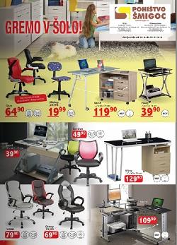 Pohištvo Šmigoc katalog avgust 2014