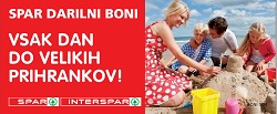 Spar in Interspar katalog Darilni boni 7/14