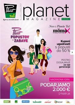 Tuš katalog Planet magazine Kranj