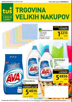 Tuš katalog Cash&Carry september 2014