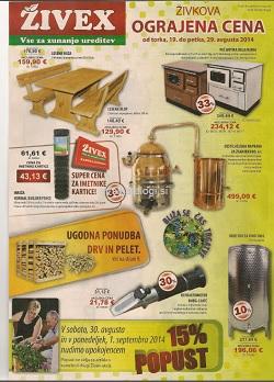 Živex katalog avgust 2014