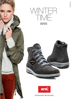 Ara shoes katalog Jesen zima 2014