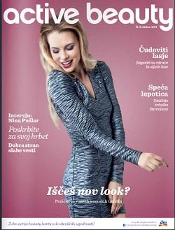 DM active beauty revija oktober 2014