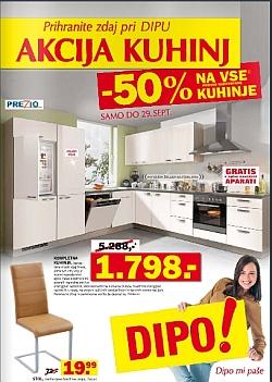 Dipo katalog Akcija kuhinj do 29. 9.