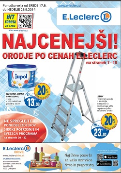 E Leclerc katalog Maribor do 28. 9.