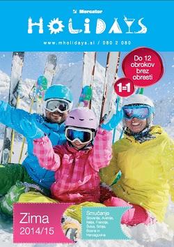 Mercator katalog M holidays zima 2014/15