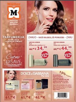 Muller katalog parfumerija do 13. 9.