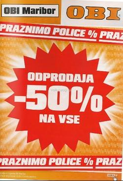 OBI katalog Odprodaja Maribor