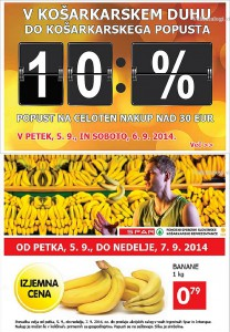 Spar in Interspar vikend akcija