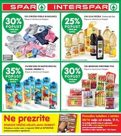 Spar in Interspar katalog od 17. 9.