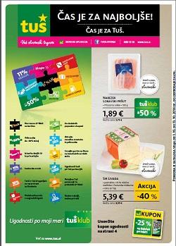 Tuš katalog trgovine in franšize do 13. 10.