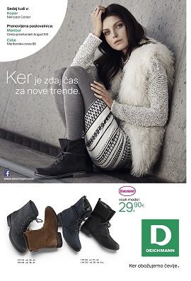 Deichmann katalog jesen zima 2014
