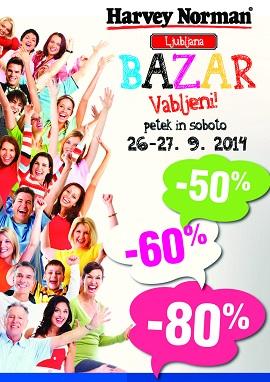 Harvey Norman katalog Bazar v Ljubljani