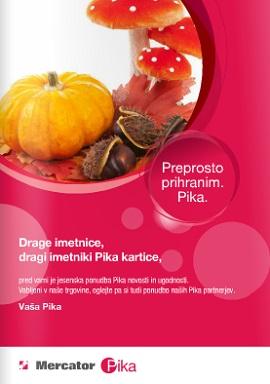 Mercator Pika katalog Oktober 2014