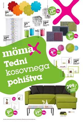 Momax katalog Tedni kosovnega pohištva