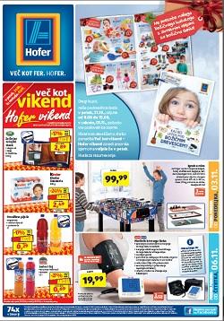 Hofer katalog od 3. 11., in od 6.11.