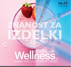 Oriflame katalog Wellness do 29.12.