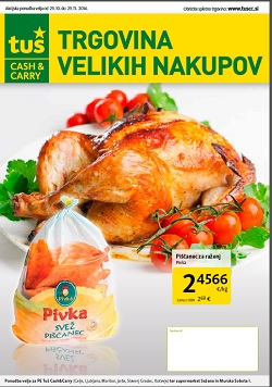 Tuš katalog Cash&Carry november 2014