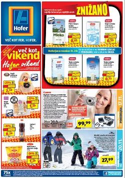 Hofer katalog od 17. 11., in od 20. 11.