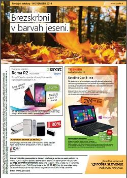 Pošta Slovenije november 2014