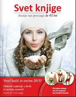 Svet knjige katalog Božično – novoletna izdaja