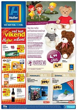 Hofer katalog od 15. 12., in od 18. 12.