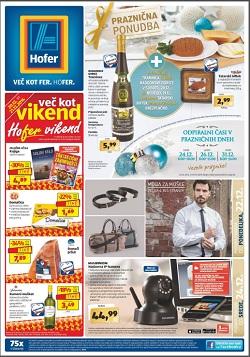 Hofer katalog od 22. 12., in od 24. 12.