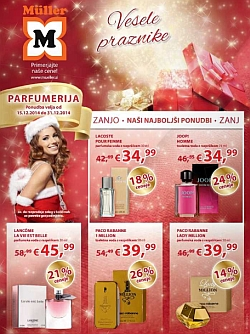 Muller katalog parfumerija do 31. 12.