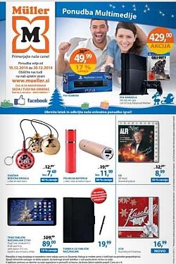 Muller katalog Igrače Multimedija do 20. 12.