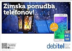 Debitel katalog Zimska ponudba telefonov