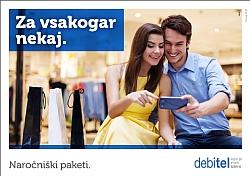 Debitel katalog Naročniški paketi januar 2015
