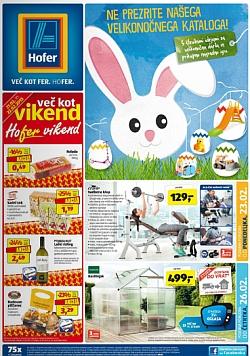 Hofer katalog od 23. 2., in od 26. 2.