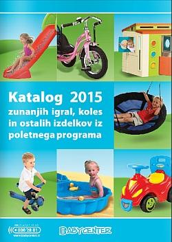 Baby Center katalog Zunanja igrala 2015