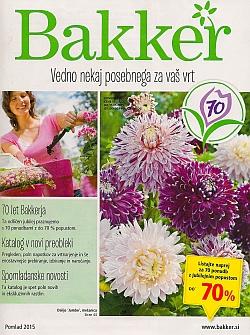 Bakker katalog pomlad 2015