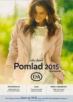 C&A katalog Pomlad 2015