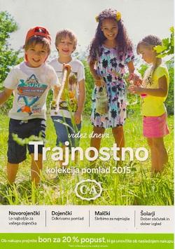 C&A katalog Otroci pomlad 2015