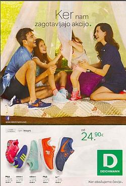 Deichmann katalog Pomlad 2015 Športna obutev