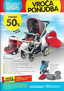 Baby Center katalog Vroča ponudba do 14. 5.