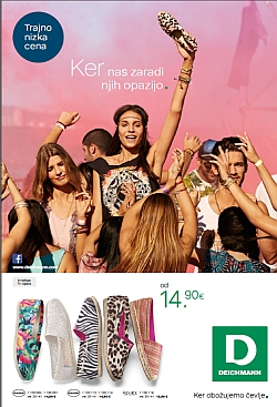 Deichmann katalog april 2015