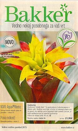 Bakker katalog Sobne rastline pomlad 2015