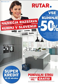 rutar katalog akcija kuhinj do 9 5. Black Bedroom Furniture Sets. Home Design Ideas