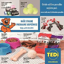Tedi katalog Stalne prodajne uspešnice maj 2015