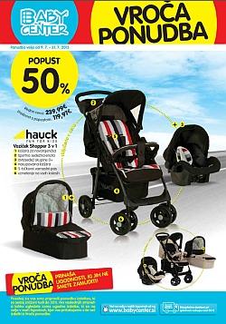 Baby Center katalog Vroča ponudba julij 2015