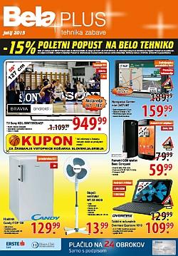 Bela plus katalog julij 2015