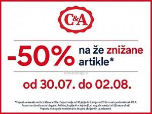 C&A akcija