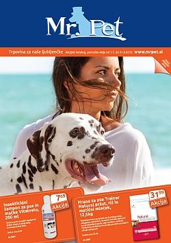 MrPet katalog julij in avgust 2015