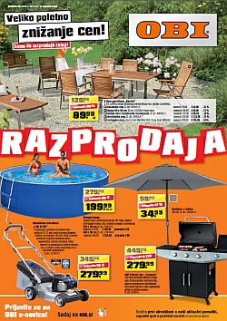 Obi katalog razprodaja do 2 8 for Obi pool katalog