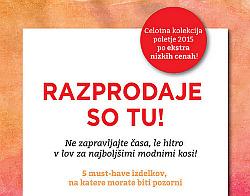 Sportina katalog Poletne razprodaje