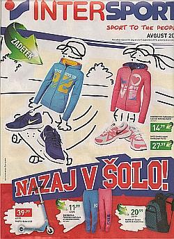 Intersport katalog avgust 2015