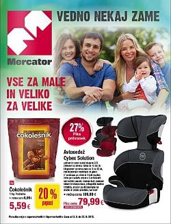 Mercator katalog Vse za otroke